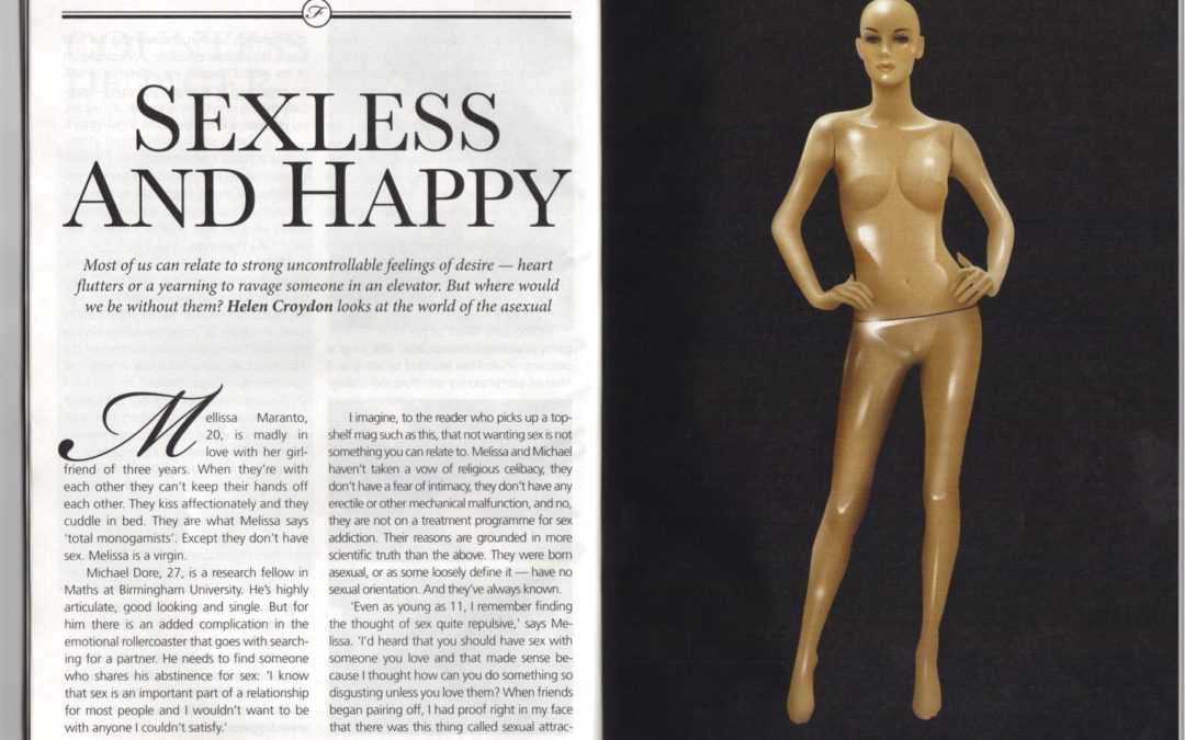 Sexless and happy: Asexuals fight back