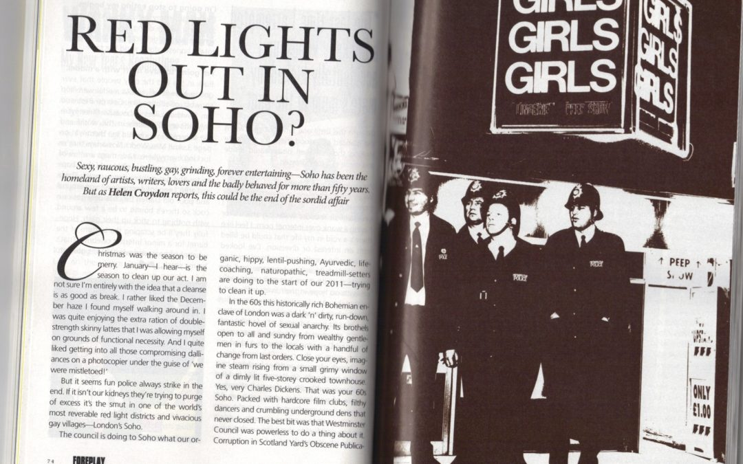 Red Lights out in Soho?