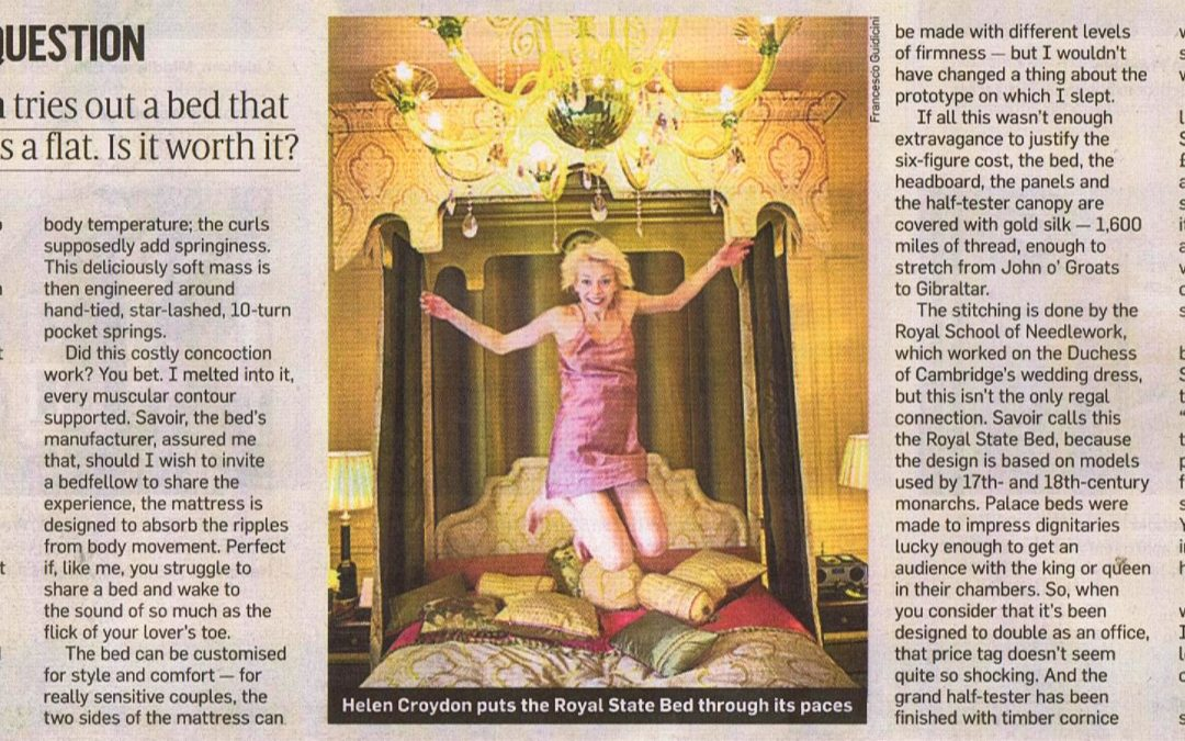 The £125,000 bed question