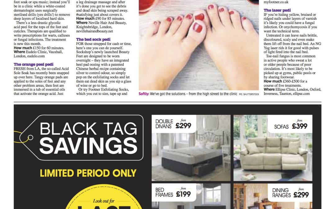 Time to get the tootsies out – The best of summer pedicures