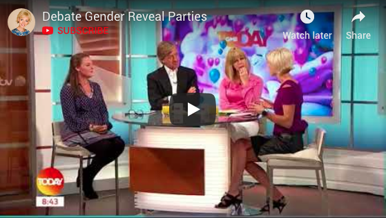ITV: Do we really care about 'gender reveal' parties?