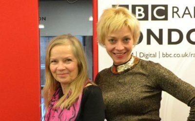BBC Radio London: Talking to Jo Good about This Girl Ran