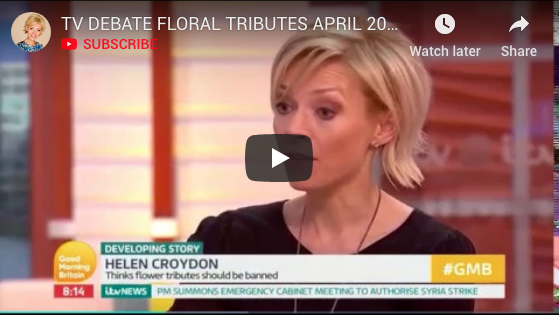ITV Good Morning Britain: Should floral tributes be banned?
