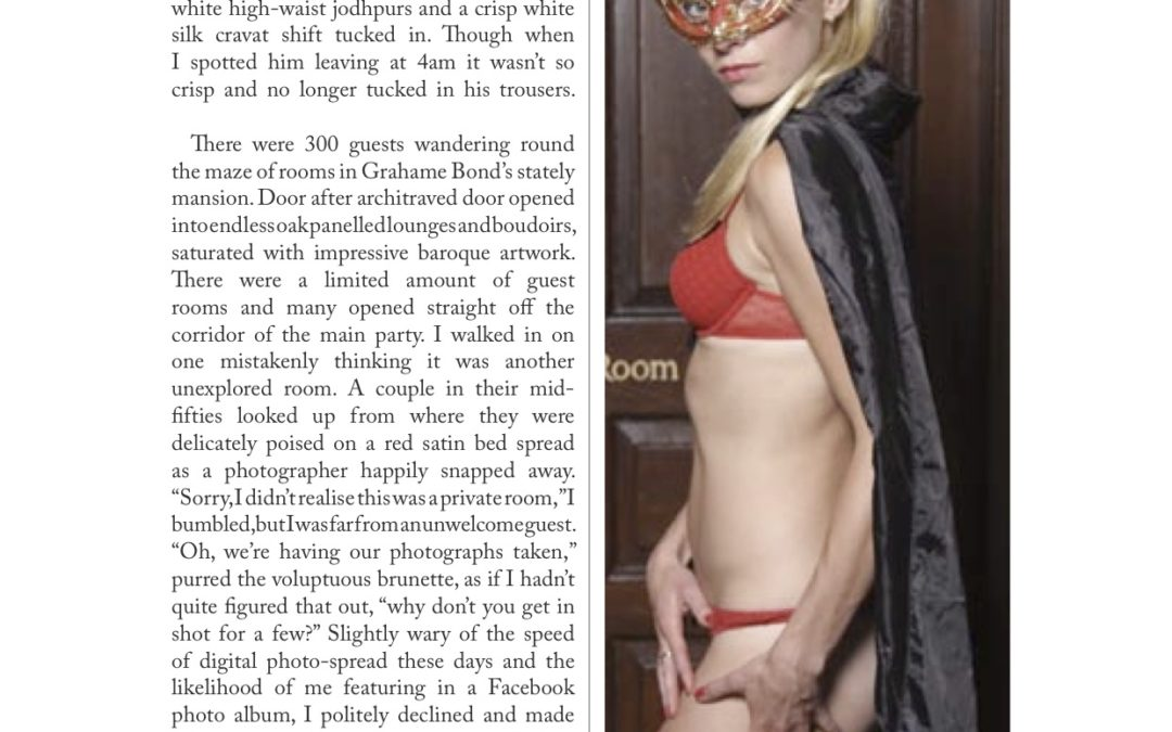 ER Magazine: Inside a posh swingers' party