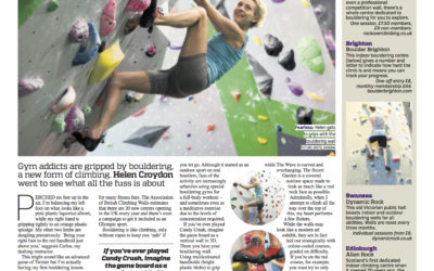 Metro: Be fitter, braver and boulder