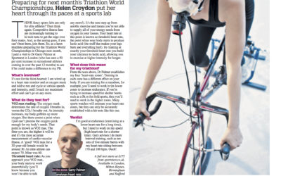 Metro: Fitness Tri-out, I get Vo2 Max Tested for triathlon training