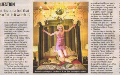 Sunday Times: The £125,000 bed question