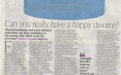 The Times: Kiss and break-up: Can you really have a happy divorce?