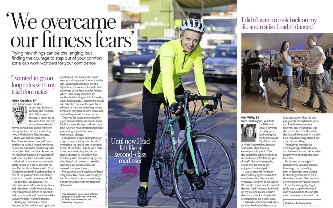Fitness fears: I confront my jitters about cycling in traffic