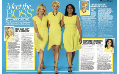 Woman Mag: Meet the BOS Women (Better Off Single)