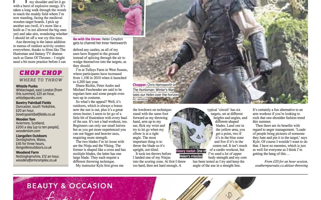 Metro: All you ever wanted to know about AXE THROWING!