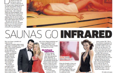 Saunas go infra-red