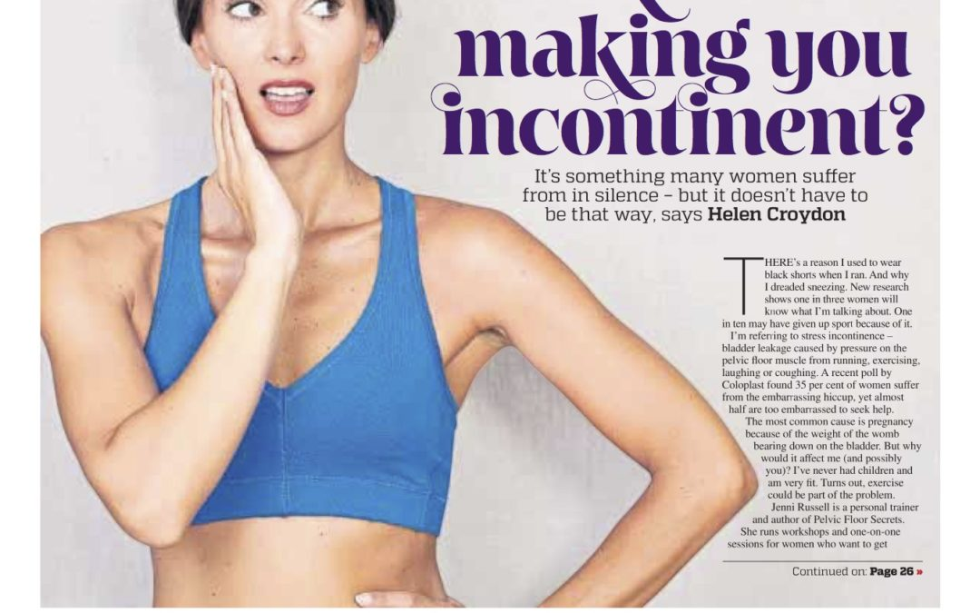 Could Exercise be Making you Incontinent