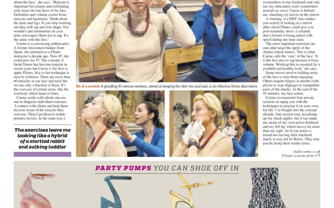 Metro: Face Pilates: The new trend for anti-aging