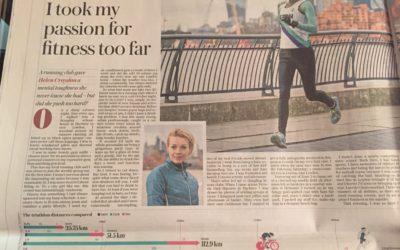 Telegraph: From party girl to GB triathlete – but was it a step too far