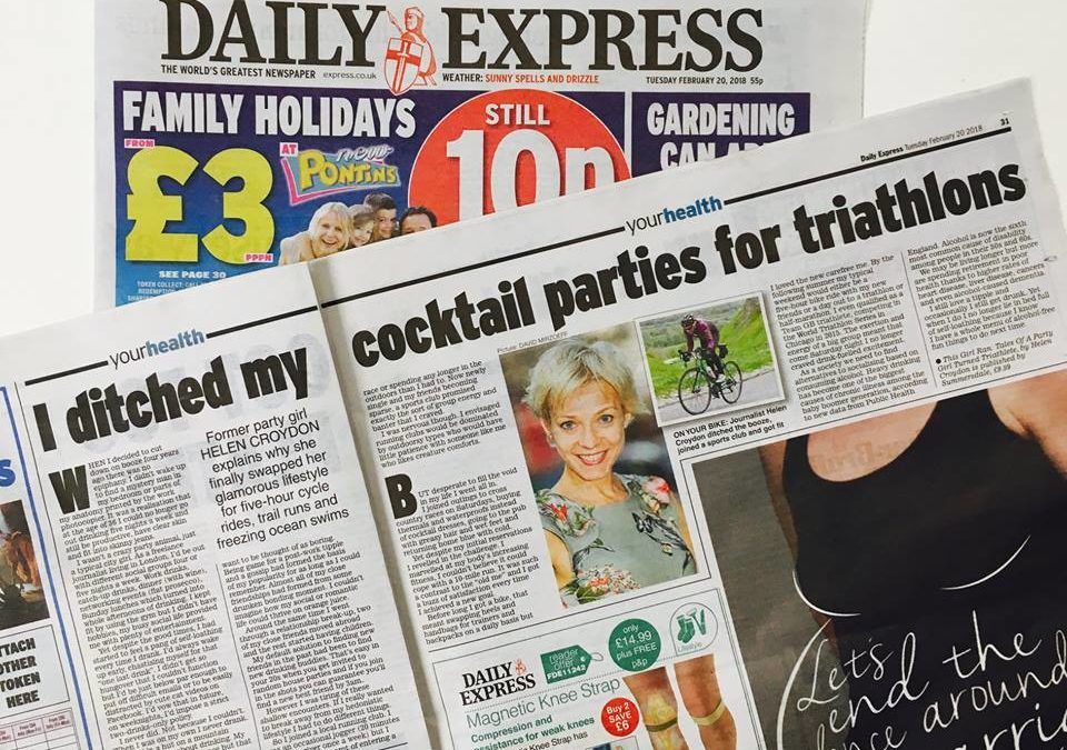 Express: From cocktail bars to GB Triathlete